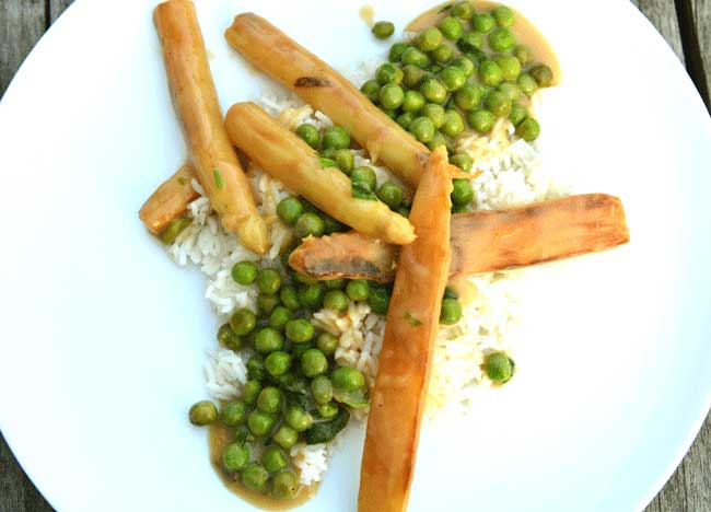 Spargel – Erbsen – Gemüse