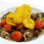 Kürbis - Gnocchi mit Pilzen und Tomaten kochschläger